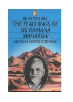 be as you are the teachings of sri ramana maharshi